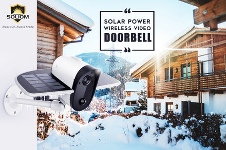 Soliom Is Here With World's First Solar Powered Wireless Security Camera- Soliom S60!