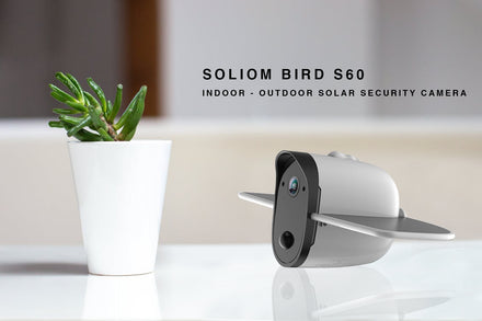 World's first solar power wire-free smart door camera Review