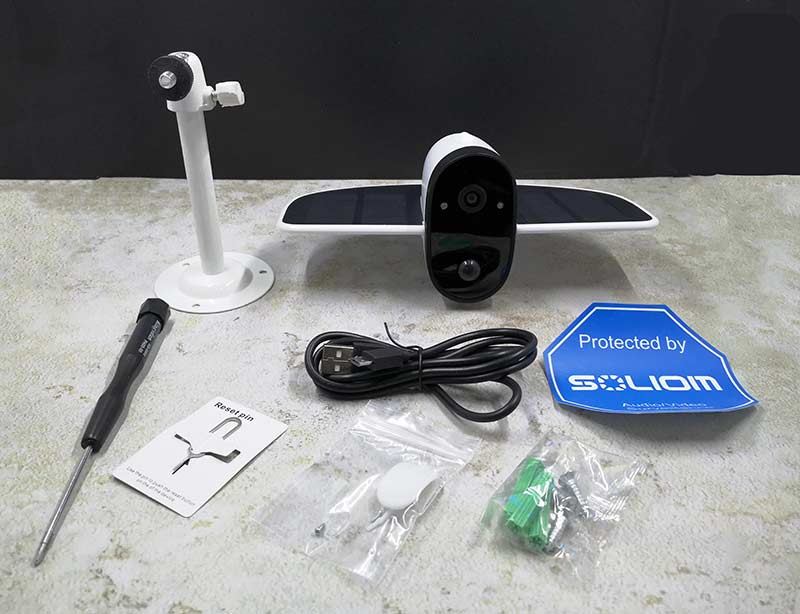 Get Soliom's Weatherproof Wireless Security Camera With Built-In Microphone