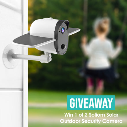 SOLIOM Giveaway gets you a home camera freely with features you won't find on the $200 Nest Cam