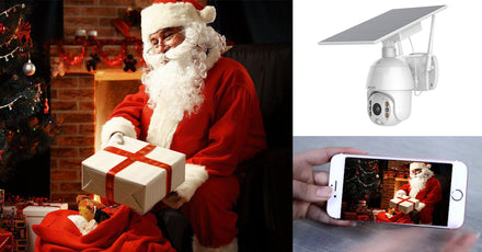 How to Catch Santa With Soliom Smart Solar Home Security Camera?