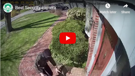 Thwarts Villainous Porch Pirate -Soliom Camera Capture