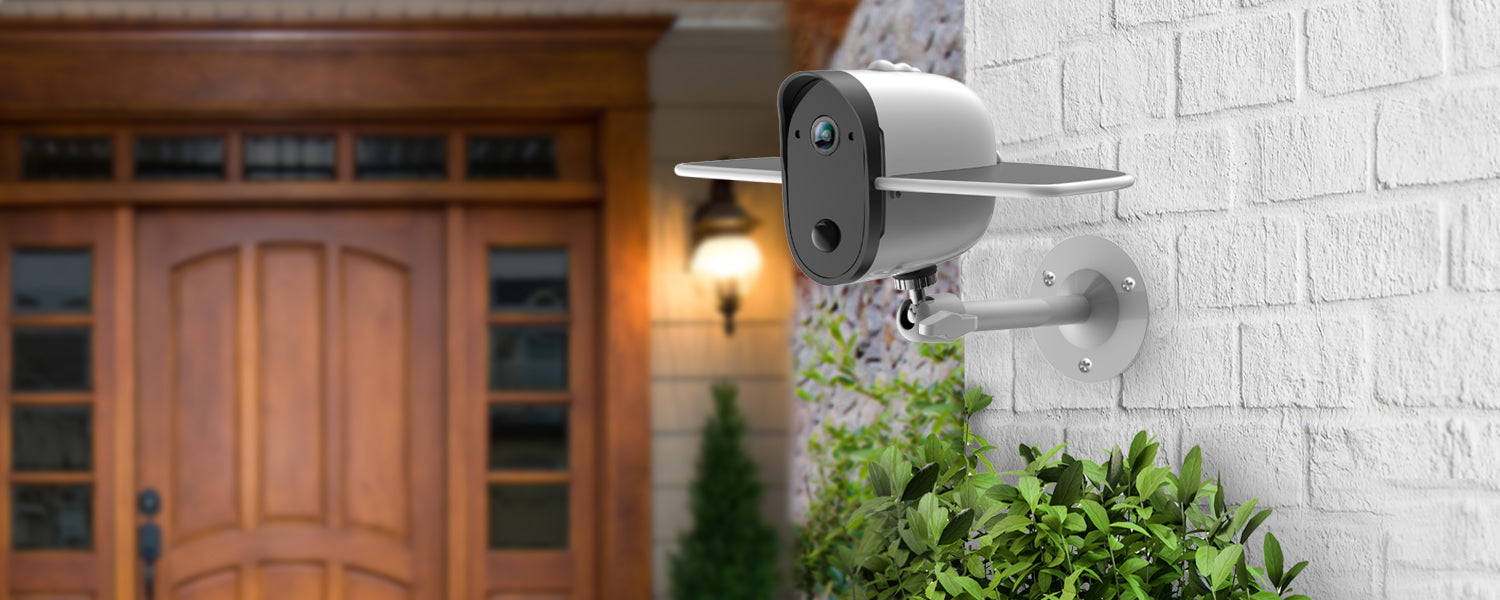 Buy Affordable Solar Security Cameras Online For Sale Worldwide