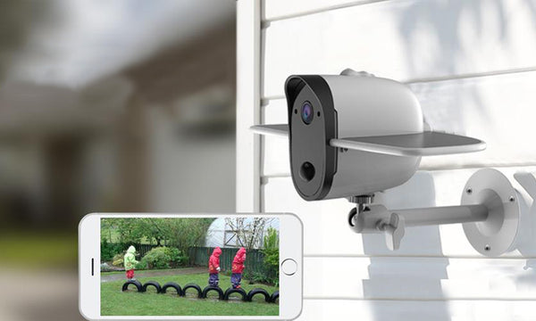 Why your house windows need the solar security camera?