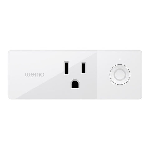 Wemo Mini Smart Plug Outlet