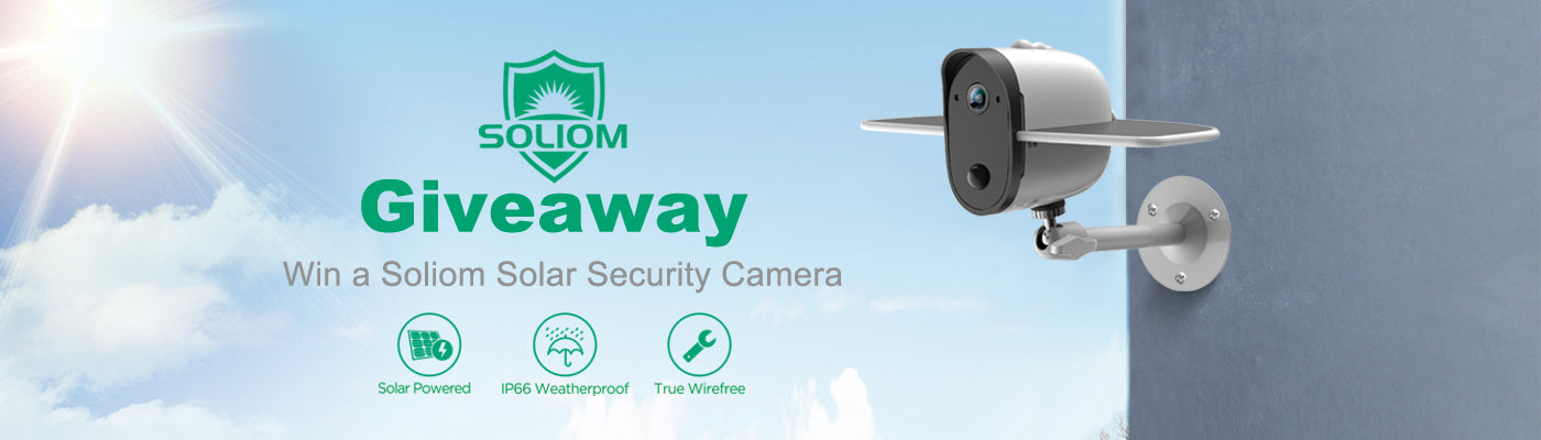 soliom security camera giveaway