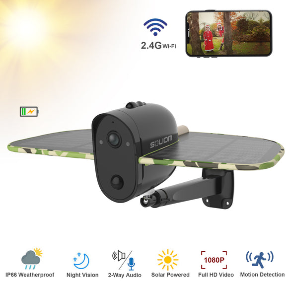 Solar Security Camera