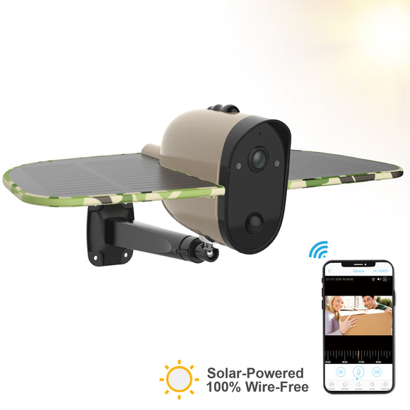 Wireless Solar Security Camera