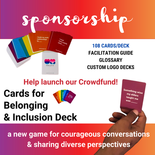 Sponsorship: Belonging & Inclusion Deck