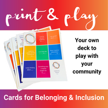 Load image into Gallery viewer, Sponsorship: Belonging & Inclusion Deck