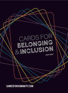 [Print & Play] Cards for Belonging & Inclusion Deck