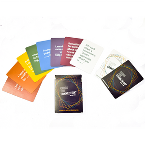 PRE-ORDER Spanish / English Cards for Connection® Deck - Games for Humanity