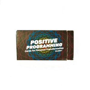 Positive Programing Deck + Sparkle - Games for Humanity