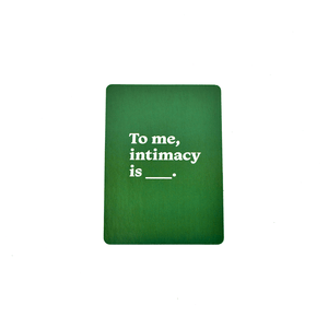 Intimacy Deck + Sparkle - Games for Humanity