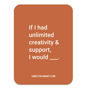 Orange Connection Sticker - Games for Humanity