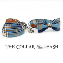 Load image into Gallery viewer, Pups! Plaid Collar & Leash Set-Pups Closet