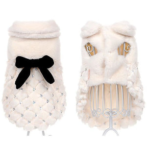 Pups! Fur Dress - 2 colours available - Pups Closet