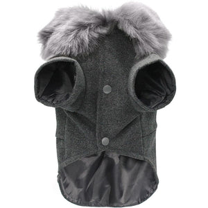 Pups! Wool Coat - 2 colours available - Pups Closet
