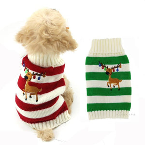 Pups! Reindeer Sweater - 2 colours available - Pups Closet