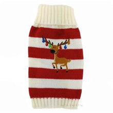 Load image into Gallery viewer, Pups! Reindeer Sweater - 2 colours available - Pups Closet
