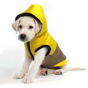 Pups! Reflective jacket with large hood - 3 colours available - Pups Closet