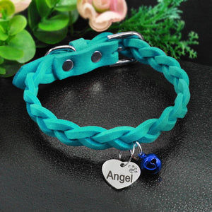 personalized dog collar with name