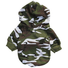 Load image into Gallery viewer, Pups! Camouflage Hoodie - 3 colours available - Pups Closet