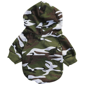 Pups! Camouflage Hoodie - 3 colours available - Pups Closet