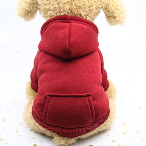 Pups! Plain Colored Hoodie - 6 colours available - Pups Closet