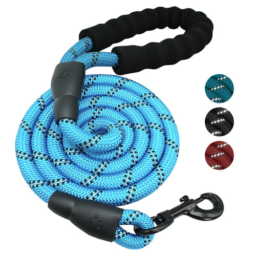 Pups! Nylon Reflective Leash - 5 colours available