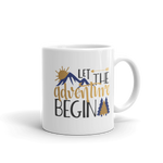 Let the Adventure Begin Mug