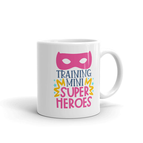 Teaching Super Heros Mug