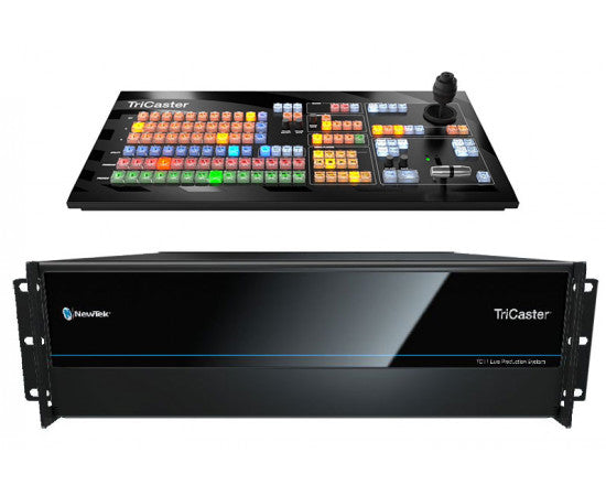NEWTEK TRICASTER TC1 PLUS BUNDLE WITH SMALL CONTROL PANEL AND REDUNDANT POWER