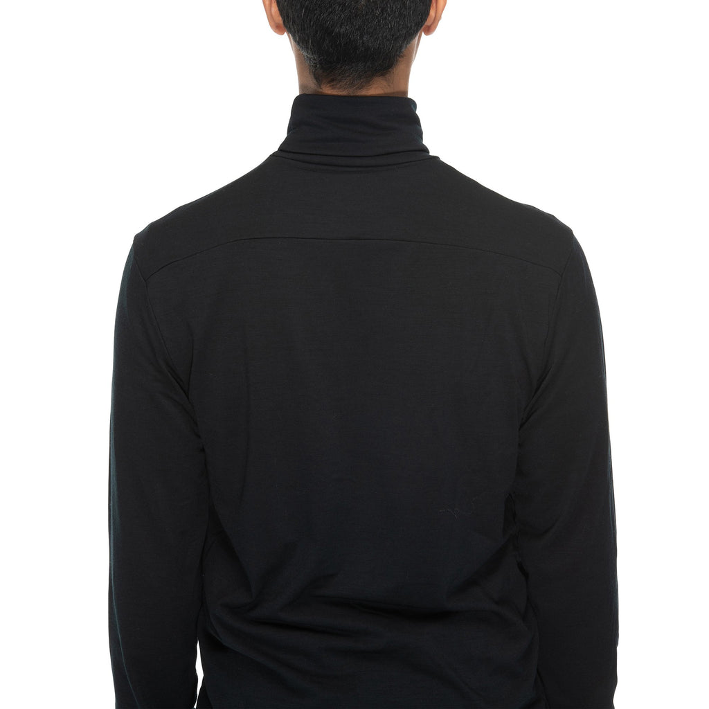 Merino Turtleneck | Black