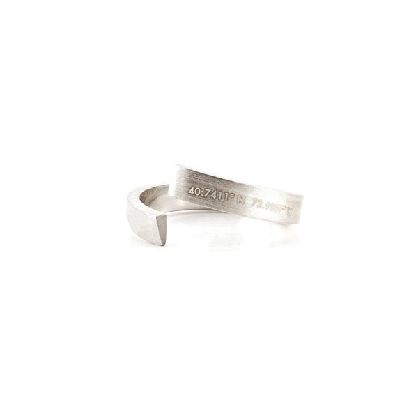 New York Ring | Sterling Silver