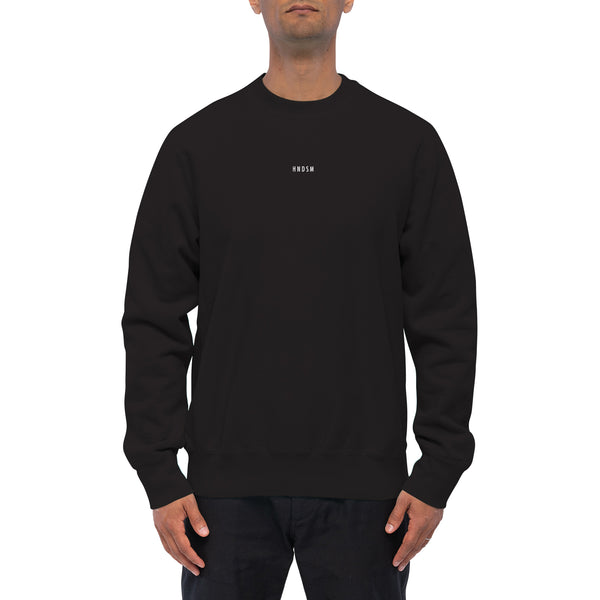 LOGO CREWNECK SWEATSHIRT | BLACK