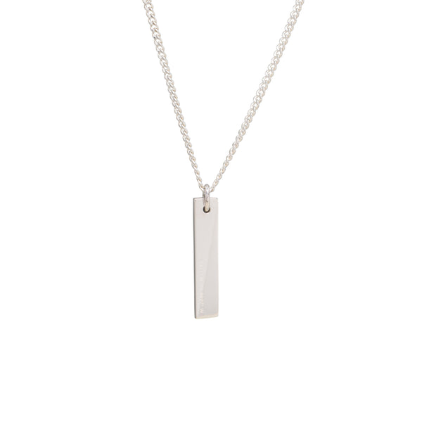 New York Necklace | Polished Sterling Silver