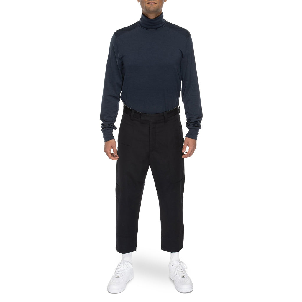 Merino Turtleneck | Midnight Blue