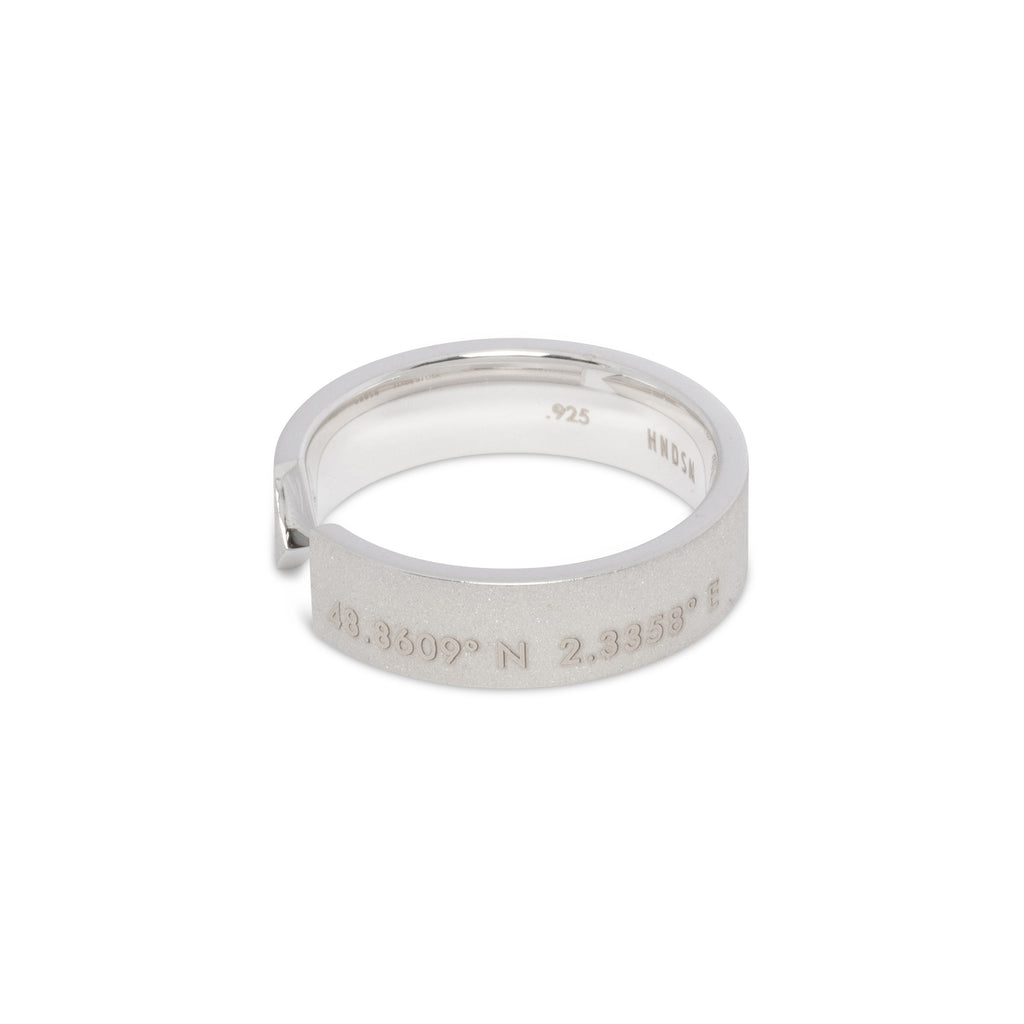 Paris Ring | Matte Sterling Silver