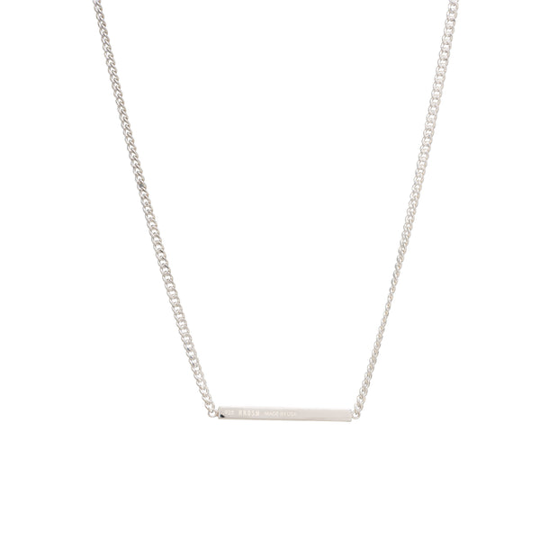 Tokyo Necklace | Polished Sterling Silver