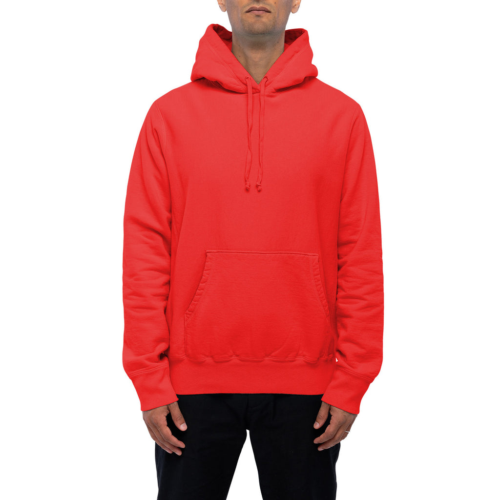 HOODED SWEATSHIRT | RED