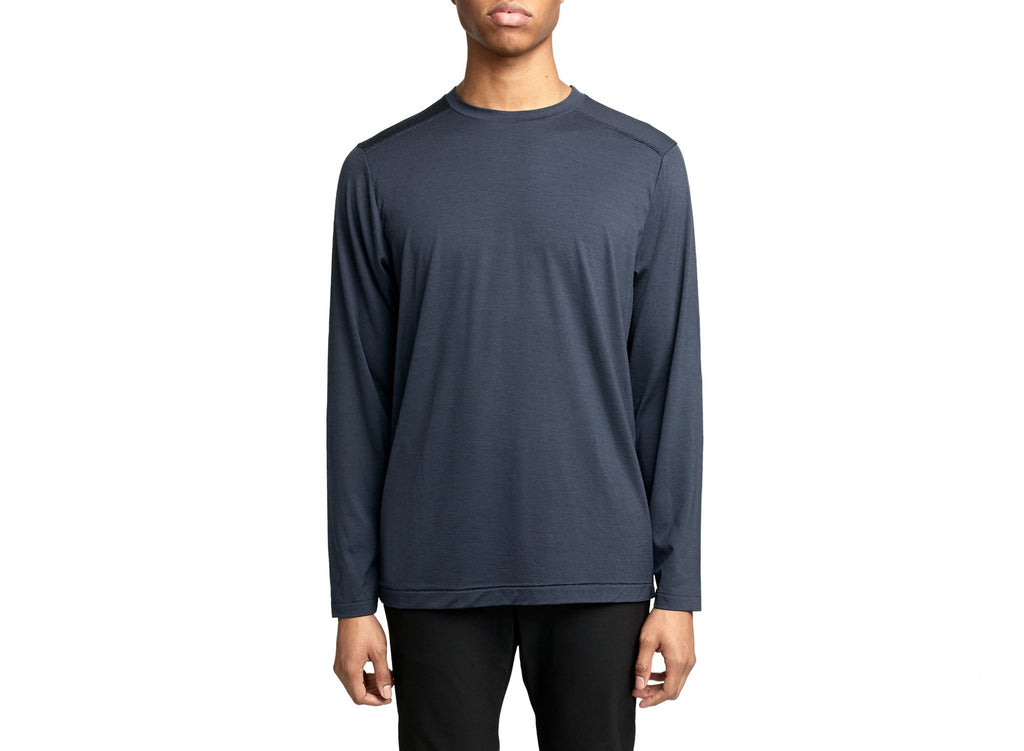 Merino Long Sleeve | Midnight Blue