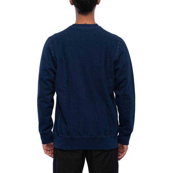 CREWNECK SWEATSHIRT | NAVY