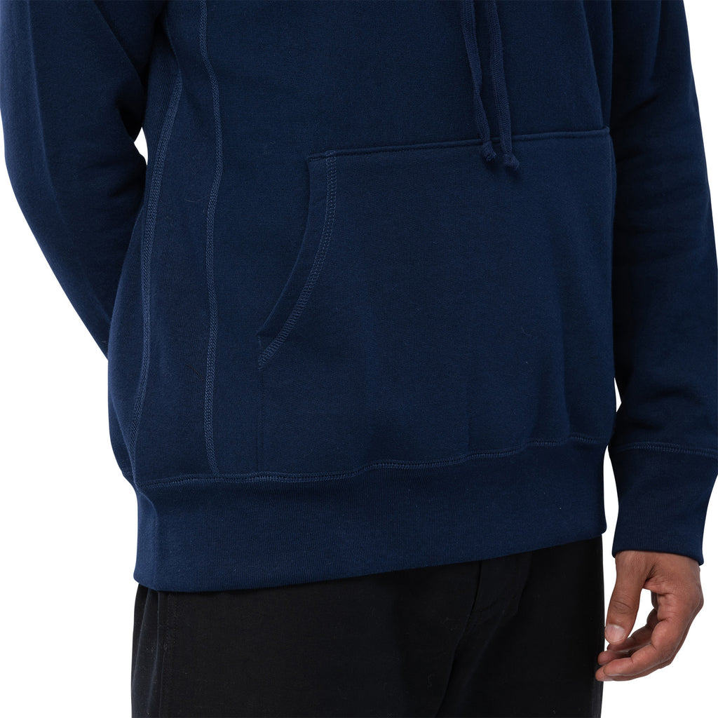 HOODED SWEATSHIRT | NAVY