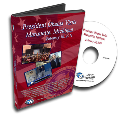 President Obama Visits Upper Michigan (DVD)