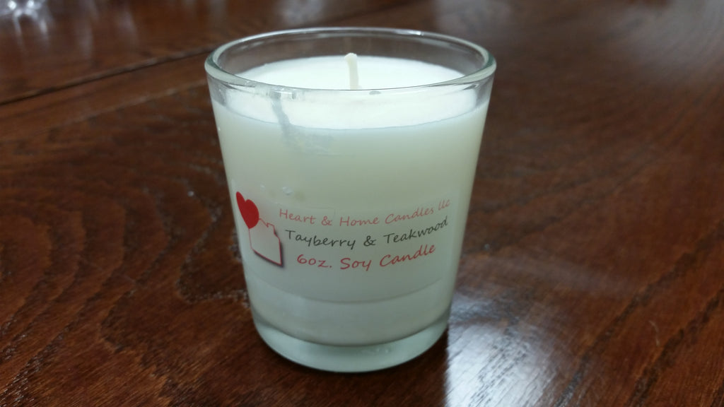 6oz Scented Soy Candles