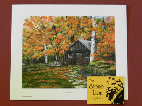The Cottage at Autumn