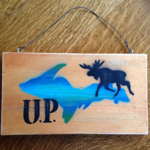 Rustic UP Signs