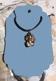 Michigan Greenstone Copper Nugget Keweenaw Necklace