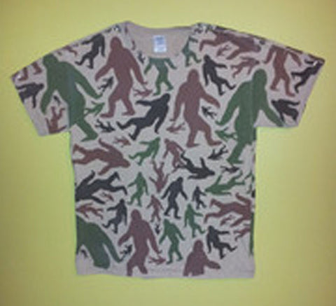 Camo Northwoods Sasquatch Shirt